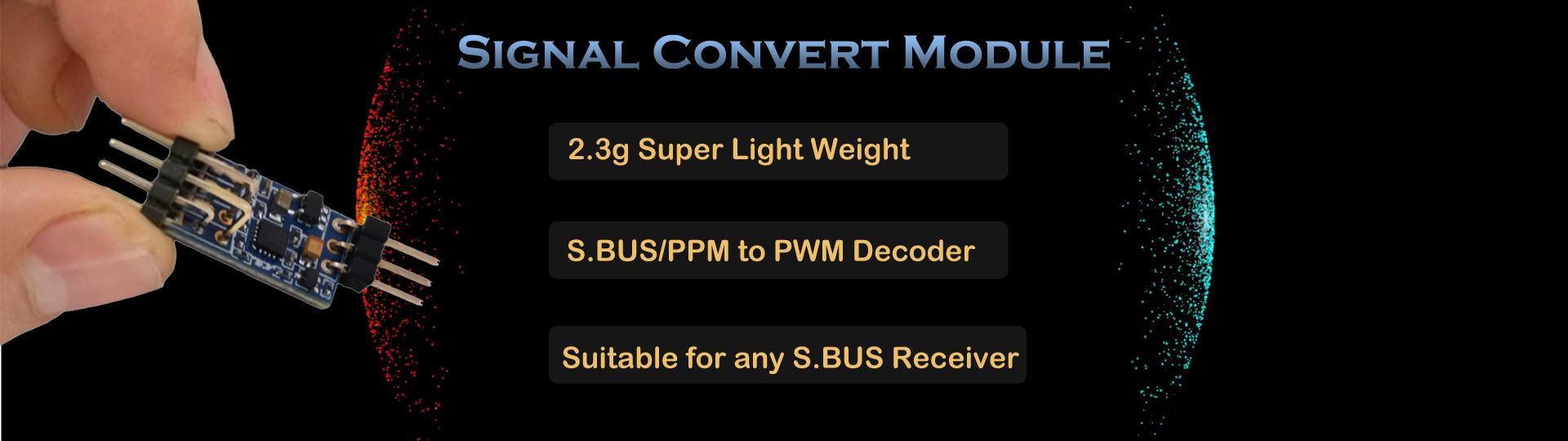 Модуль конвертор сигналов